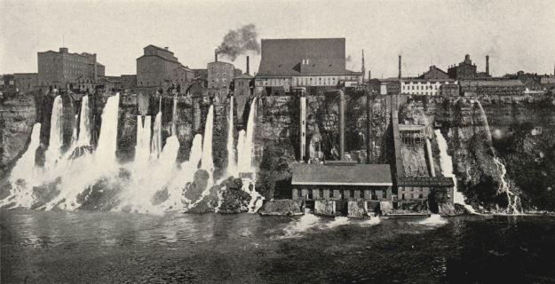Niagara Falls in 1904
