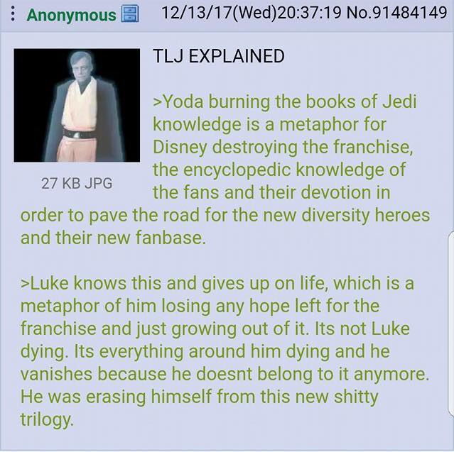 The Last Jedi Explained