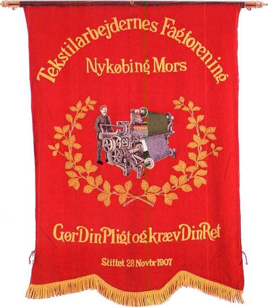 A 1st of May, Union Red Banner - Denmark